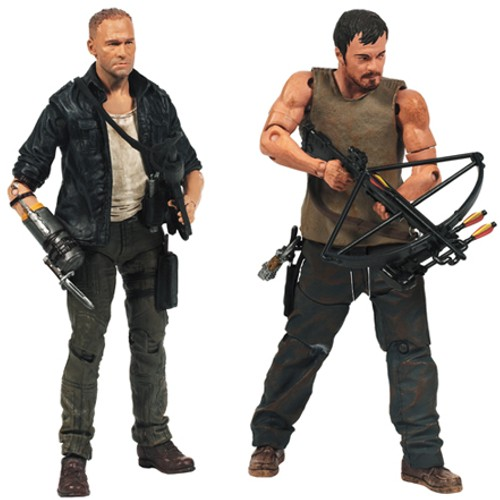 The Walking Dead Merle and Daryl Dixon 2 Pack Action Figure 12K-Q80-14499/4