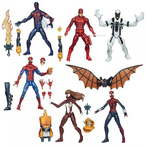 Marvel Amazing Spider-Man 2 Marvel Legends Figures Wave 3 Case 12K-R30-HMVA6655C1
