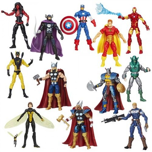 Marvel Infinite Action Figures Wave 2 Case 12K-R30-HMVA6749B
