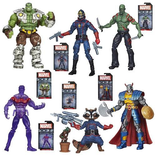 Marvel Infinite Action Figures Wave 4 Case 12K-R30-HMVA6749D