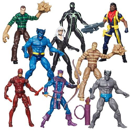 Marvel Infinite Action Figures Wave 5 Case 12K-R30-HMVA6749E