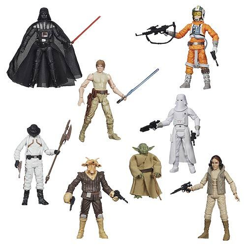 "Star Wars The Black Series 3-3/4"" Action Figures Case 12K-R30-HSA5077E"