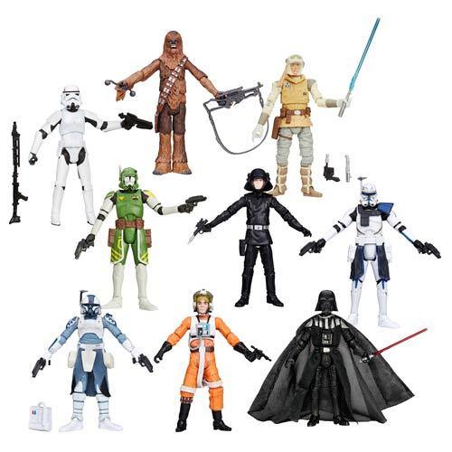 Star Wars Black Series 3.7-Inch Action Figures Wave 7 Case 12K-R30-HSA5077G