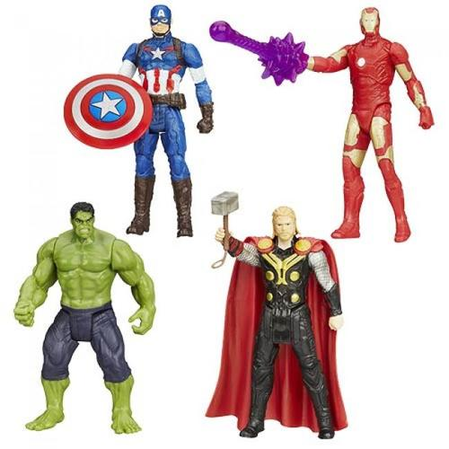 Marvel Avengers All-Star Action Figures Wave 1 Case 12K-R30-HSB0437A
