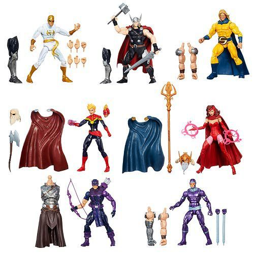 Marvel Avengers Legends Infinite Action Figures Wave 1 Case 12K-R30-HSB0438A