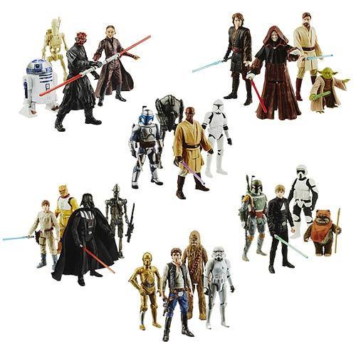 """Star Wars Digital Collection 3 3/4"""" Action Figures Case 12K-R30-HSB0513A"""