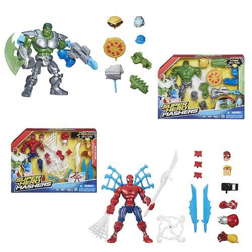 Marvel Super Hero Mashers Feature Action Figures Wave 1 Case 12K-R30-HSB0677A