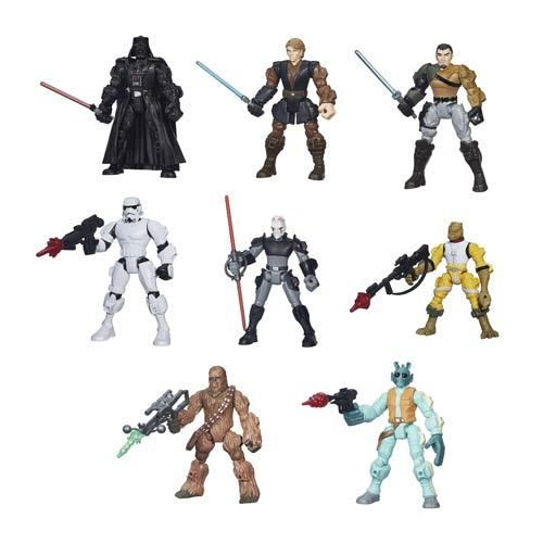 Star Wars Hero Mashers Action Figures Wave 3 Case 12K-R30-HSB3656C