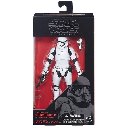 "Hasbro Star Wars VII The Force Awakens The Black Series First Order Stormtrooper 6"" Action Figure 12K-R30-HSB3838"