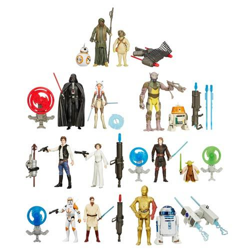 Star Wars: The Force Awakens Mission Series Action Figure 2-Packs Wave 1 Case 12K-R30-HSB3955A