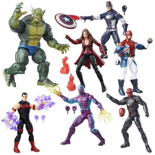 Hasbro Captain America Civil War Marvel Legends Figures Wave 3 Case 12K-R30-HSB6355C