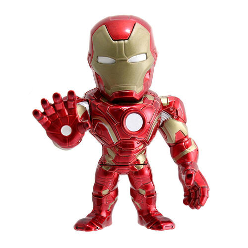 "Captain America: Civil War Iron Man 4"" Die-Cast Metal Action Figure 12K-R30-JD97557"