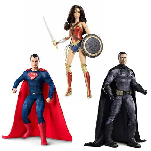 Mattel Batman v Superman: Dawn of Justice Barbie Doll Case 12K-R30-MTDGY03A