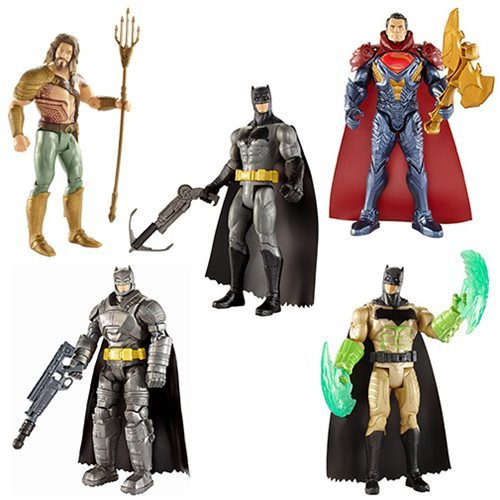 Mattel Batman v Superman 6-Inch Figures Wave 2 Basic Action Figure Case 12K-R30-MTDJG28B