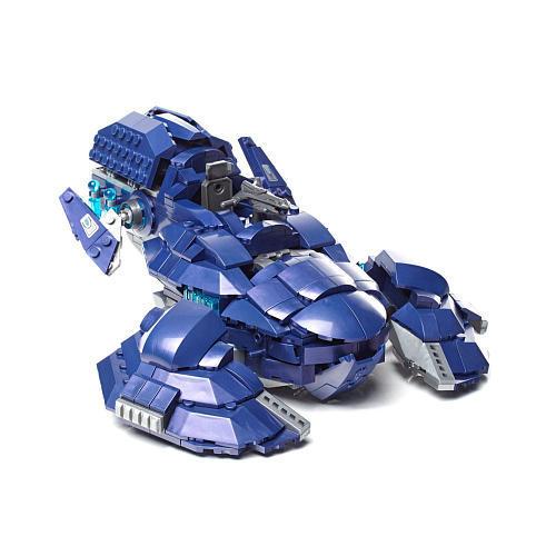 Mega Bloks Halo Covenant Wraith Ambush Building