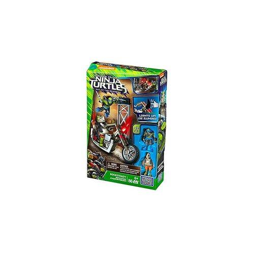 Mega Bloks Teenage Mutant Ninja Turtles - Rocksteady Moto Attack Construction Set 12L-766-DPW10