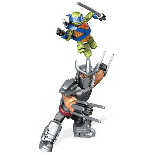 Mega Bloks Teenage Mutant Ninja Turtles Leo Shredder Showdown Construction Set 12L-766-DPW80