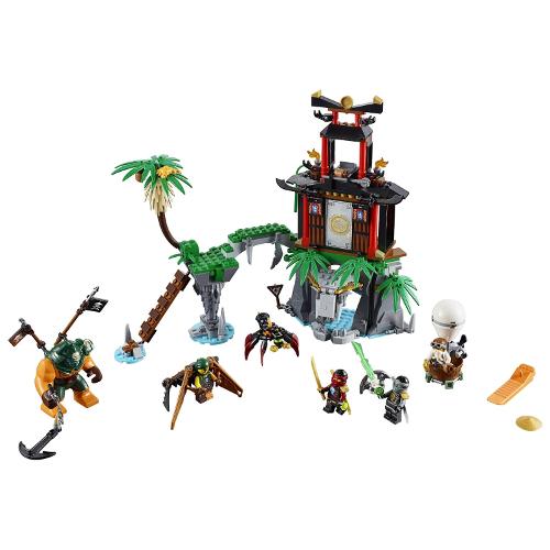Lego Ninjago Tiger Widow Island