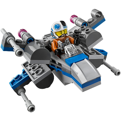 Lego Star Wars Microfighters Resistance X-Wing Fighter 12L-P67-75125
