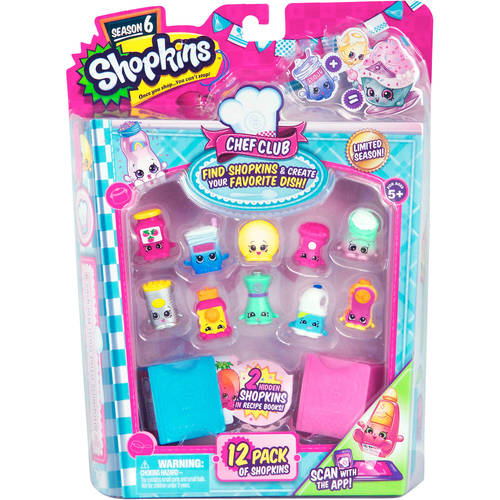 Shopkins Season 6 Chef Club - 12 Pack 12Q-P22-12144