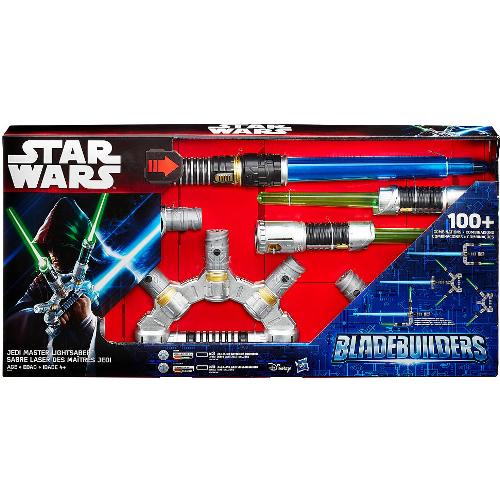 Hasbro Star Wars Bladebuilders Jedi Master Lightsaber 12Q-R30-HSB2949