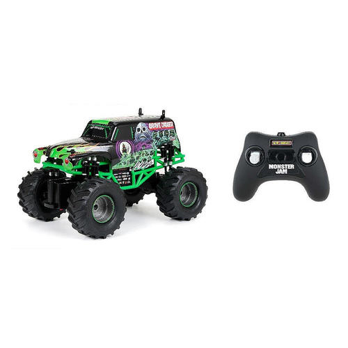 New Bright Remote Control 1:15 Full Function Monster Jam - Grave Digger 12R-653-1530