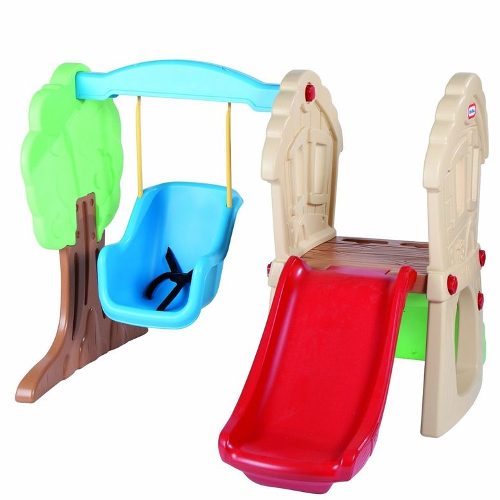 Little Tikes Hide and Seek Climber and Swing 12V-641-630293