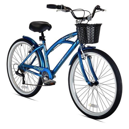 "Kent 26"""" Women's Bay Breeze 7-Speed Cruiser Bicycle - Blue"" 12B-R47-22625"