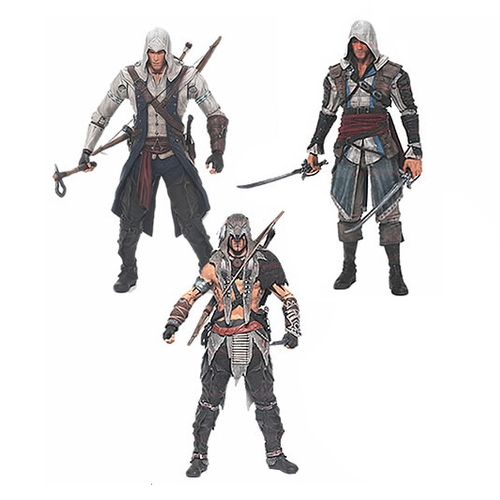 Assassin's Creed Series 1: Connor Action Figure - Assortment 12K-Q80-81000/4