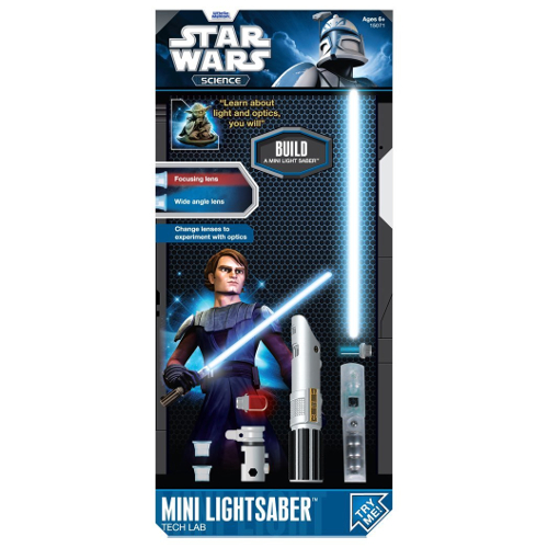 Uncle Milton Star Wars Science Mini Lightsaber Tech Lab 12N-R70-15071