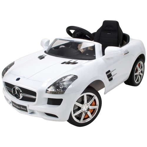 Huffy 6V Mercedes Benz SLS AMG Ride On White