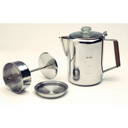 Texsport Stainless Steel 9 Cup Percolator 003QI800D7