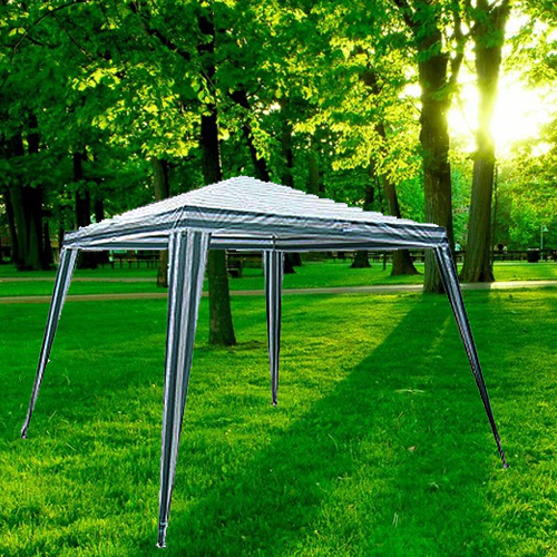 Outdoor Canopy - Green / White