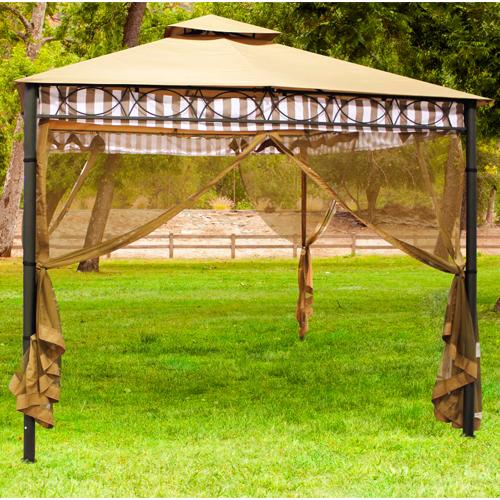 Outdoor Patio Gazebo Mosquito Net