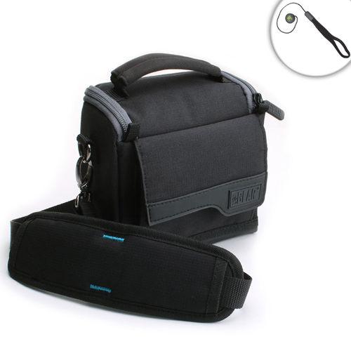 USA Gear Lightweight Medium Holster Camera Bag for Nikon Compact Cameras