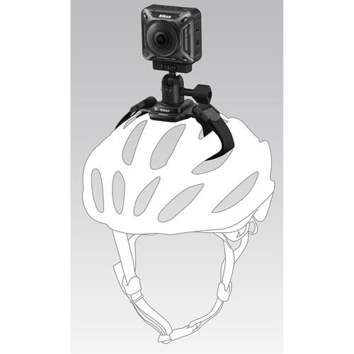 Nikon Vented Helmet Strap Mount for KeyMission Action Cameras