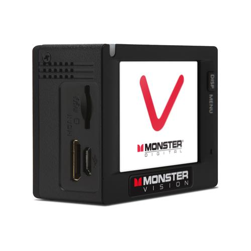 Monster CAMVP1080A Vision 1080p Plus HD Action Sports Camera