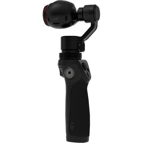 DJI Osmo CPZM000160 Handheld 4K Camera and 3-Axis Gimbal / 12 Megapixel / 3.5 x Optical Zoom - Black