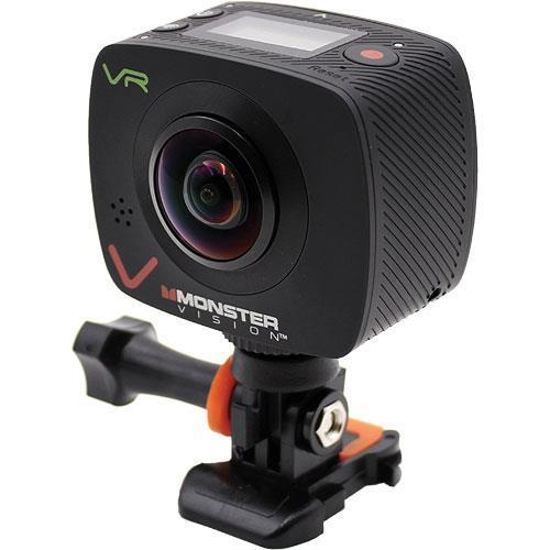 Monster CAMVR0360A Vision Virtual Reality 360° Sports Camera
