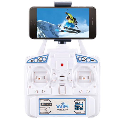 Drone 2.4G RC Quad Copter with 1080P Camera with Wi-Fi and LED Lights