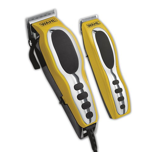 Wahi Groom Pro 22-Piece Head & Body Grooming Kit - Yellow/Black 22H-023-795203101P