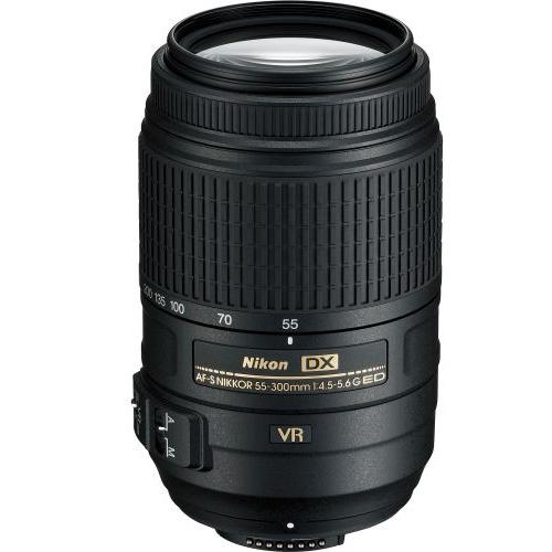 Nikon AF-S NIKKOR 55-300mm f/4.5-5.6G ED VR Zoom Lens