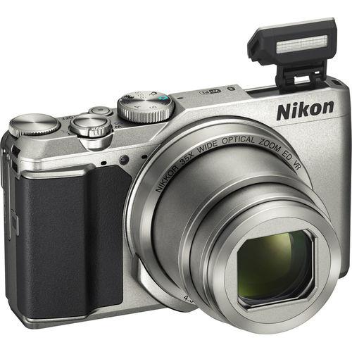 Nikon COOLPIX A900 Digital Camera / 20MP / 35x Optical Zoom - Silver