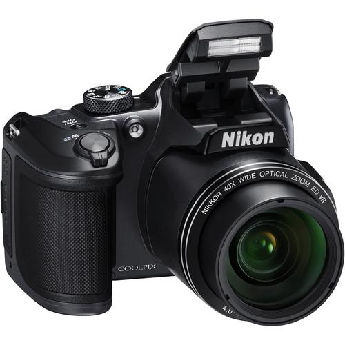 Nikon COOLPIX B500 Digital Camera / 16MP / 40x Optical Zoom - Black