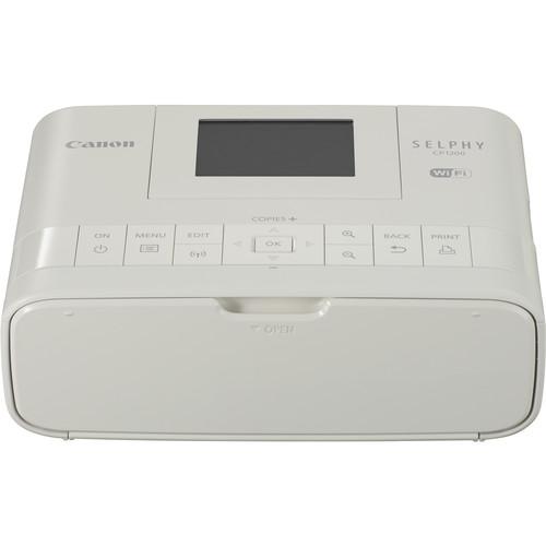 Canon SELPHY CP1200 Wireless Compact Photo Printer - White
