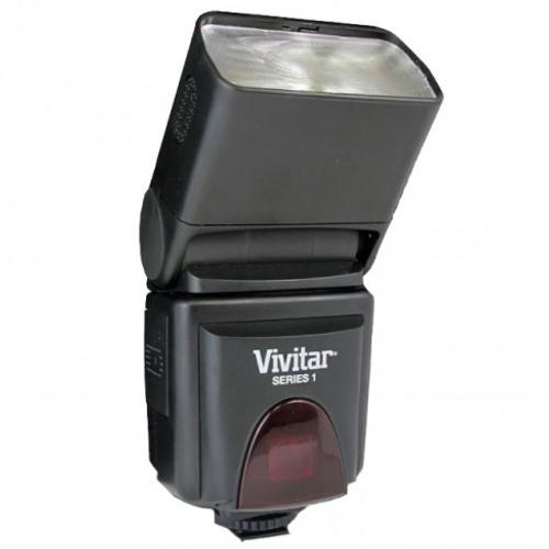 Vivitar DF293 LCD Zoom Swivel Flash for Canon