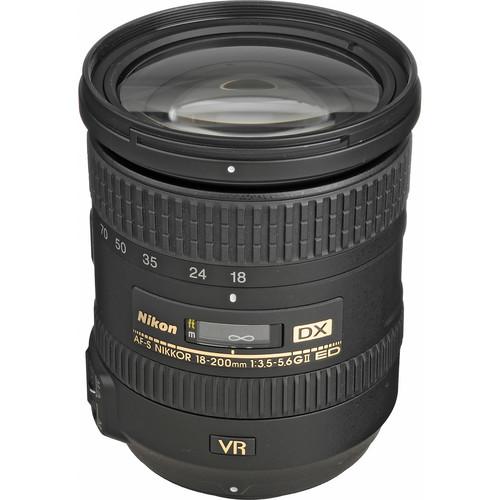 Nikon 18200VRII DX NIKKOR 18-200mm f/3.5-5.6G ED VR II Lens