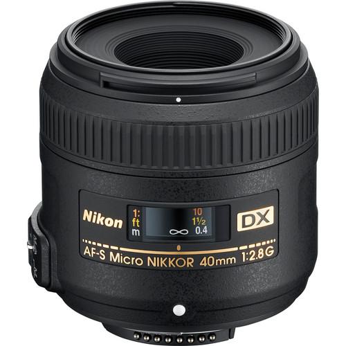Nikon 40MM/MICRO 40mm f/2.8G AF-S DX Micro-Nikkor Lens
