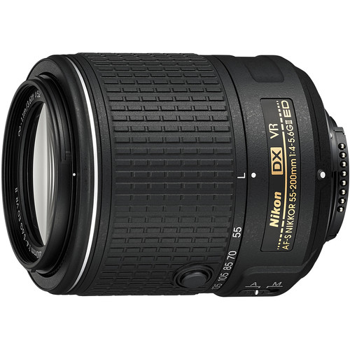 Nikon 55200VRII DX NIKKOR 55-200mm f/4-5.6G ED VR II Lens