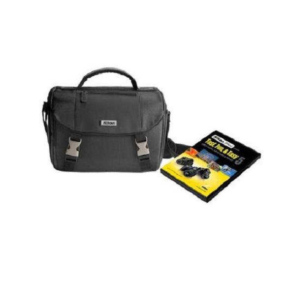 Nikon Black Digital SLR Camera Bag with Instructional DVD